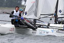 , Kiel - Kieler Woche 20. - 28.06.2015, Nacra 17 - ITA 166 - Sabatini, Francesco