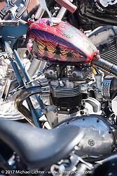 Chopper Time old school bike show at Willie's Tropical Tattoo during Biketoberfest. Ormond Beach, FL, USA. Thursday October 19, 2017. Photography ©2017 Michael Lichter.