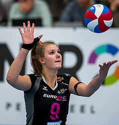 29-09-2018 NED: Supercup Sliedrecht Sport - Eurosped, Sliedrecht<br /> Sliedrecht takes the first price of the new season / Eline Timmerman #9 of Eurosped