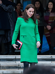 Catherine Duchess of Cambridge visits Alperton Community School in London in support of Place 2 Be's Children's Mental Health Week in London, England, UK on February 05, 2019. CAP/JOR ©JOR/Capital Pictures. 06 Feb 2019 Pictured: Catherine Duchess of Cambridge. Photo credit: JOR/Capital Pictures / MEGA TheMegaAgency.com +1 888 505 6342