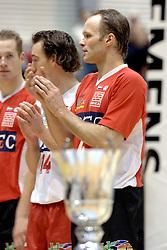 05-03-2006 VOLLEYBAL: FINAL 4 HEREN:  ORION - ORTEC NESSELANDE: ROTTERDAM<br /> In een mooie finale was Nesselande in 3 sets te sterk voor Orion / Marko Klok<br /> Copyrights2006-WWW.FOTOHOOGENDOORN.NL