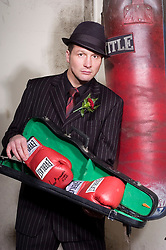 Former IBF World boxing Champion Clinton Woods ready for the Saint Valentines day Massacre comeback fight on February 14th 2009 against Elvir Muriqi from the USA at the Hotel De France Jersey, 10  December 2008 © Paul David Drabble