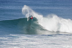 October 12, 2017 - Joel Parkinson of Australia advanced directly to Round Three of the 2017 Quiksilver Pro France after winning Heat 9 of Round One at Hossegor. (Credit Image: © WSL via ZUMA Press)