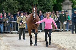 King Mary, (GBR), Kings Temptress<br /> First Horse Inspection - Mitsubishi Motors Badminton Horse Trials <br /> Badminton 2015