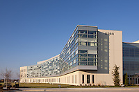 Architectural Exterior image of NCI Research Facility in Frederick, MD
