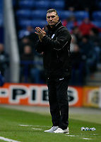 Photo: Steve Bond/Richard Lane Photography. Leicester City v Crystal Palace. E.ON FA Cup Third Round. 03/01/2009. Nigel Pearson applauds his Leicester team