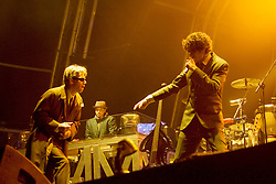 Beastie Boys on the main stage, the Connect festival in Inveraray.<br /> ©Pic : Michael Schofield.