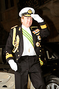 Gala dinner on the occasion of the civil wedding of Grand Duke Guillaume and Princess Stephanie at the Grand-Ducal palace in Luxembourg <br /> <br /> On the photo: Prince Willem-Alexander
