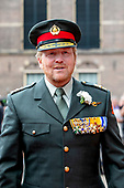 Koning en de minister-president Rutte bij Veteranendag 2020