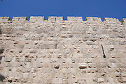 Israel, Jerusalem, The walls of the old city