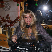 Goldierocks is a International celebrity DJ at the Hornï Underwear for London Launch Party to support global rhino conservation fundraising on 8 Feb 2018 at Cuckoo Club in London, UK.