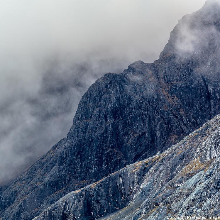8.20am Tower Ridge, Ben Neviis, Highland, Scotland.