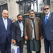 World Cancer Care delagate attends Parliament, London, UK. 2021-09-06