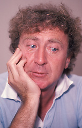 GENE WILDER, (born Jerome Silberman, June 11, 1933 - August 28, 2016) was an American stage and screen comic actor, screenwriter, film director, and author. He was known best for the lead role in the 1971 film 'Willy Wonka in Willy Wonka & the Chocolate Factory,' and the Mel Brooks comedies 'Blazing Saddles', and 'Young Frankenstein', which Wilder co-wrote, garnering the pair an Academy Award nomination for Best Adapted Screenplay. Wilder died at age 83 from complications from Alzheimer's disease. PICTURED: Sept. 5, 1982 - New York, New York, U.S. - GENE WILDER during a press interview. (Credit Image: Mario E. Ruiz/ZUMAPRESS.com))