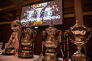 National League Trophies during the National League Gala Awards at Celtic Manor Resort, Newport, United Kingdom on 8 June 2019.