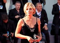 Isabella Ferrari at the premiere of the film Foxtrot at the 74th Venice Film Festival, Sala Grande on Saturday 2 September 2017, Venice Lido, Italy.