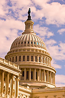 Dome of the U.S. Capitol, Washington D.C., U.S.A.