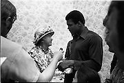 15/07/1972<br /> 07/15/1972<br /> 15 July 1972<br /> Muhammad Ali at Stewarts Hospital Fete, Palmerstown, Dublin.