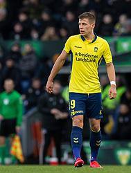 Samuel Mraz (Brøndby IF) under kampen i 3F Superligaen mellem Brøndby IF og Lyngby Boldklub den 1. marts 2020 på Brøndby Stadion (Foto: Claus Birch).