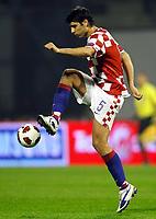 Fotball<br /> 07.09.2010<br /> Foto: Gepa/Digitalsport<br /> NORWAY ONLY<br /> <br /> UEFA Europameisterschaft 2012, Qualifikation, Laenderspiel, Kroatia vs Hellas<br /> <br /> Bild zeigt Vedran Corluka (CRO)