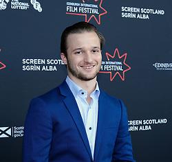 Edinburgh International Film Festival 2019<br /> <br /> Robert The Bruce (World Premiere)<br /> <br /> Pictured: Brandon Lessard<br /> <br /> Aimee Todd | Edinburgh Elite media