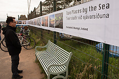 Outdoor Photography Exhibition in Portobello, Edinburgh, 1 September 2020
