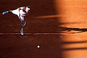 Roland Garros 2011. Paris, France. May 25th 2011..Russian player Igor ANDREEV against Jo-Wilfried TSONGA