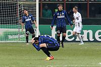 """Diego Milito Inter<br /> Milano 07/12/2011 Stadio """"S.Siro""""<br /> Football / Calcio Champions League 2011/2012<br /> Inter vs CSKA Mosca<br /> Foto Paolo Nucci Insidefoto"""
