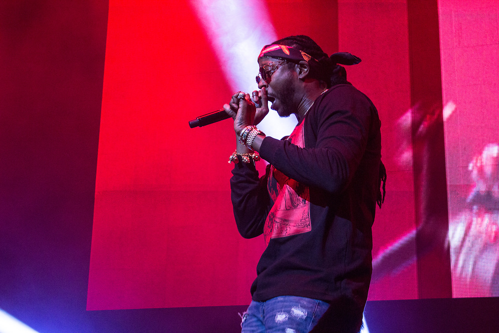 2 Chainz performing at the WGCI Summer Jam at the United Center in Chicago, IL on June 17, 2016.