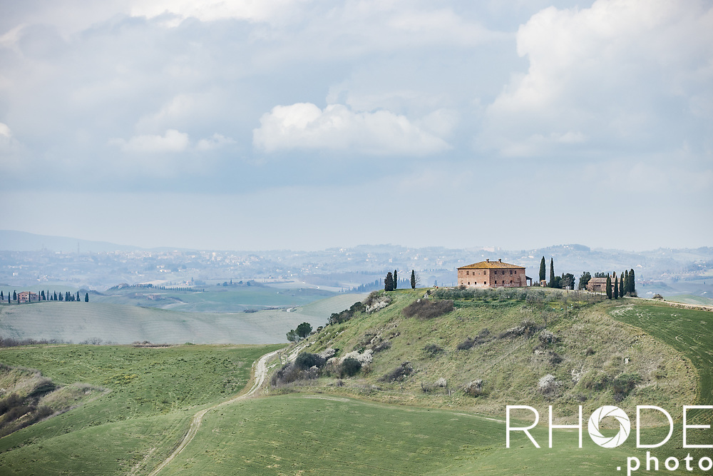 Beautiful Tuscany! <br /> Friday Martch 5th Course recon <br /> <br /> ©RhodePhoto7th Strade Bianche Women Elite <br /> Siena > Siena 136km<br /> <br /> ©RhodePhoto