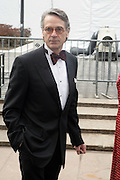 Jeremy Irons arrives at The Metropolitan Opera's 125th Anniversary Gala and Placido Domingo's 40th Anniversary Celebration underwritten by Yves Saint Laurent held at The Metropolitian Opera House, Lincoln Center on March 15, 2009 in New York City.