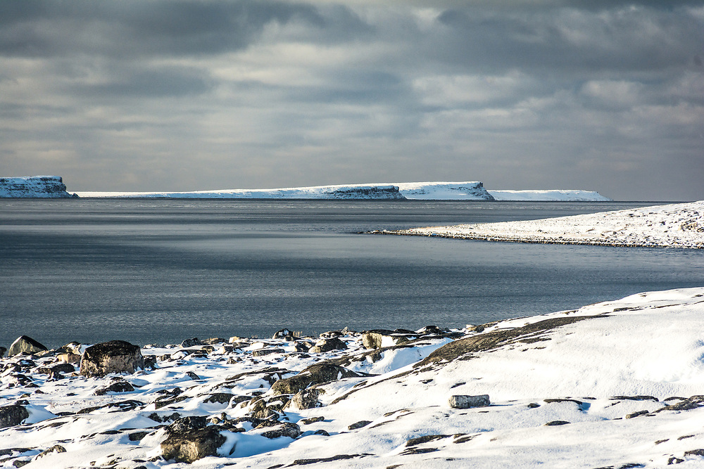 Some of the Nunavut islands that we can see from the land.