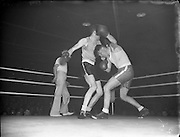 Boxing - Garda vs Yorkshire and RUC Selected at National Stadium.22/01/1954