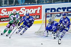 Jure Stopar (HDD Tilia Olimpija, #86) during ice-hockey match between KHL Medvescak Zagreb and HDD Tilia Olimpija in 42nd Round of EBEL league, on Januar 25, 2011 at Arena Zagreb, Zagreb, Croatia. (Photo By Matic Klansek Velej / Sportida.com)