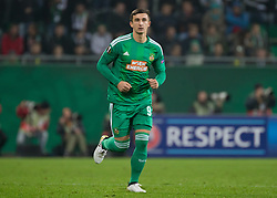20.10.2016, Weststadion, Wien, AUT, UEFA EL, SK Rapid Wien vs US Sassuolo Calcio, Gruppe F, im Bild Matej Jelic (SK Rapid Wien) // during a UEFA Europa League, group F game between SK Rapid Wien and US Sassuolo Calcio at the Weststadion, Vienna, Austria on 2016/10/20. EXPA Pictures © 2016, PhotoCredit: EXPA/ Sebastian Pucher