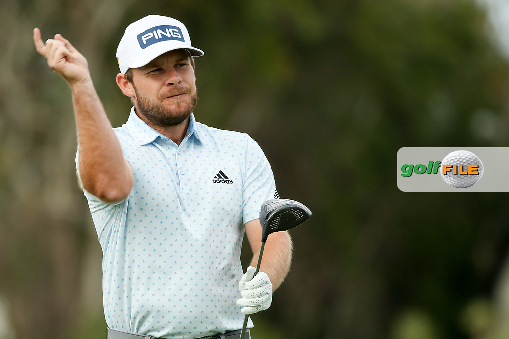 Tyrrell Hatton (ENG) during the final round of the Arnold Palmer Invitational presented by Mastercard, Bay Hill, Orlando, Florida, USA. 08/03/2020.<br /> Picture: Golffile | Scott Halleran<br /> <br /> <br /> All photo usage must carry mandatory copyright credit (© Golffile | Scott Halleran)