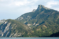 View of Schafberg from St Lorenz, Mondsee, Salzkammergut, Austria © Rudolf Abraham