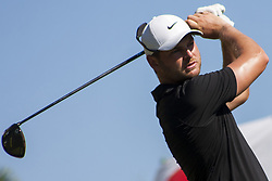 February 3, 2018 - Shah Alam, Kuala Lumpur, Malaysia - Jordan Smith is seen taking a shot from hole no 3 on day 3 at the Maybank Championship 2018...The Maybank Championship 2018 golf event is being hosted on 1st to 4th February at Saujana Golf & Country Club. (Credit Image: © Faris Hadziq/SOPA via ZUMA Wire)