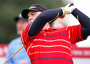 Kurt Barnes (NSW) plays an approach shot on the 18th green. He finished with a round of 64 to equal the course record. Round One, HSBC New Zealand PGA Golf Championship. Clearwater Golf Resort, Christchurch, New Zealand. Thursday 5th March 2009. Copyright Photo: www.photosport.co.nz