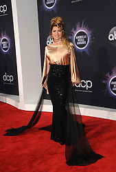 Shania Twain at the 2019 American Music Awards held at the Microsoft Theater in Los Angeles, USA on November 24, 2019.