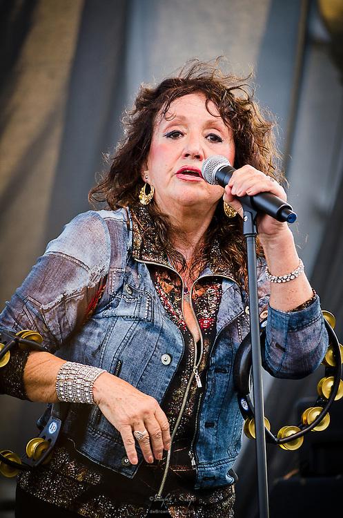 Maria Muldaur at The Riverfront Blues Festival in Wilmington, DE.