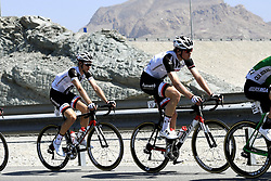 February 15, 2018 - Muscat, Oman - THEUNS Edward of Team Sunweb, WALSCHEID Max of Team Sunweb during stage 3 of the 9th edition of the 2018 Tour of Oman cycling race, a stage of 179.5 kms between German University of Technology and Wadi Dayqah Dam on February 15, 2018 in Muscat, Sultanate Of Oman, 15/02/2018 (Credit Image: © Panoramic via ZUMA Press)
