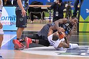 Dustin Hogue, Phil Goss<br /> Dolomiti Energia Aquila Basket Trento - Enel New Basket Brindisi<br /> Lega Basket Serie A 2016/2017<br /> Trento, 22/01/2017<br /> Foto Ciamillo-Castoria