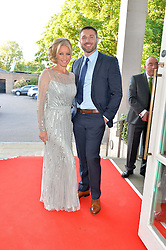 DENISE VAN OUTEN and BEN COHEN at the Ben Cohen Stand Up Foundation Gala evening at The Hurlingham Club, Ranelagh Gardens, London on 21st May 2015.