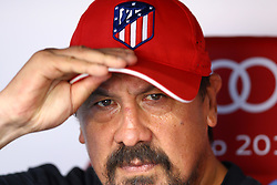 August 1, 2017 - Munich, Germany - Atletico de Madrid assistant coach German Burgos during the first Audi Cup football match between Atletico Madrid and SSC Napoli in the stadium in Munich, southern Germany, on August 1, 2017. (Credit Image: © Matteo Ciambelli/NurPhoto via ZUMA Press)