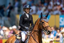 KLAPHAKE Laura (GER), Catch Me If You Can Old<br /> Aachen - CHIO 2018<br /> Rolex Grand Prix 1. Umlauf<br /> Der Grosse Preis von Aachen<br /> 22. Juli 2018<br /> © www.sportfotos-lafrentz.de/Stefan Lafrentz
