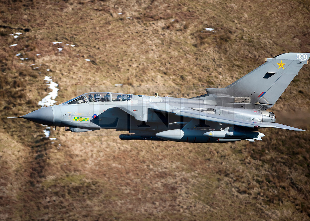 """© London News Pictures FILE PICTURE dated 1/3/10. The Tornado GR4. 18/03/11. UK forces are preparing to help enforce a no-fly zone over Libya after the UN backed """"all necessary measures"""", short of an invasion, to protect civilians. Picture credit should read: Andrew Chittock/LNP"""
