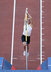 May 31, 2018 - Rome, Italy - Sam Hendricks (USA) competes in pole vault men during Golden Gala Iaaf Diamond League Rome 2018 at Olimpico Stadium in Rome, Italy on May 31, 2018. (Credit Image: © Matteo Ciambelli/NurPhoto via ZUMA Press)