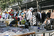 buyers at the Flea Market, Jaffa, Israel