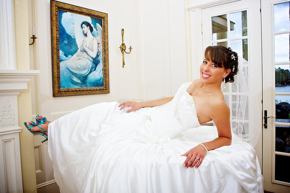 Bridal portraits of Amy Cummings. Soon to be Amy Wadzita. Mandatory Credit: Peter J. Casey